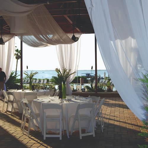 portofino island resort wedding